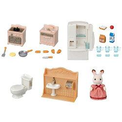 【送料無料】シルバニアファミリーセ-203あそびがいっぱい!はじめての家具セットおもちゃこども子供女の子人形遊び家具3歳