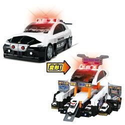 【送料無料】トミカビッグに変形!デカパトロールカーおもちゃこども子供男の子ミニカー車くるま3歳