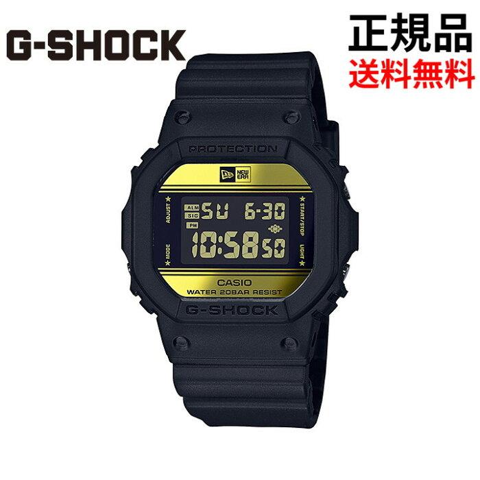 【送料無料】G-SHOCK35周年限定モデルNEWERADW-5600NE-1JRGショックジーショック国内正規品【CASIO/カシオ】