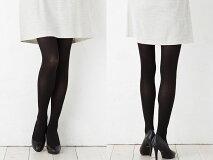 【お得な2枚セット】超のびシルクタイツ日本製《90デニールくらいの厚み》【肌側シルク】【絹タイツ】【保湿】【敏感肌用】