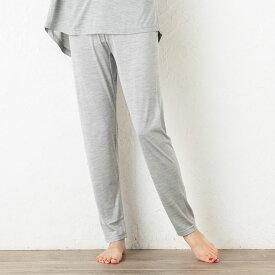 シルク100%ジャージー ルームパンツ 日本製 レディース パジャマ グレー ネイビー 紺 グリーン ピンク M-L