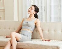 肌側シルク冷え取り腹巻パンツホールガーメント日本製レディースグレー