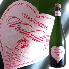 ヴァンドヴィル[N.V]ジャニソン バラドン(スパークリングワイン シャンパン 辛口 ピノノワール)