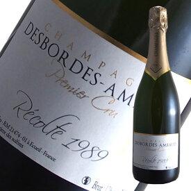 ブリュット レコルト1989プルミエクリュ[N.V]デボルド アミオー(スパークリングワイン シャンパン)