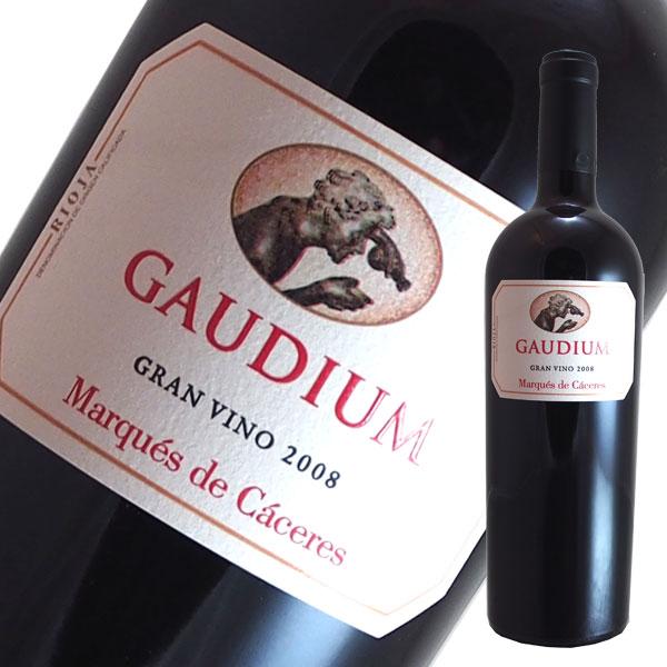 ガウディウム グランヴィーノ[2008]マルケス デ カセレス(赤ワイン スペイン)