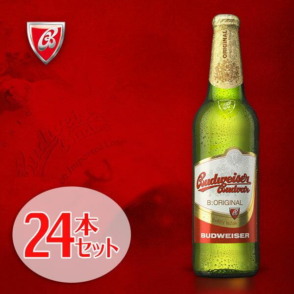 【エントリーでポイント最大17倍11/24(金)9:59まで】ブドヴァイゼル ブドバー 瓶330mlx24本 チェコビール 輸入ビール