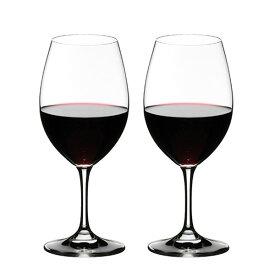 リーデル オヴァチュア(6408/00)レッドワイングラス2脚セット【お取り寄せ】【正規品】