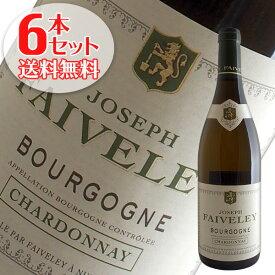 【送料無料】6本セット ブルゴーニュ シャルドネ[2016]フェヴレ(白ワイン)