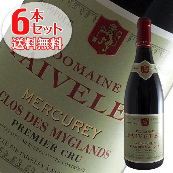 【送料無料】6本セット メルキュレ1級クロ デ ミグラン[2016]フェヴレ(赤ワイン ブルゴーニュ)