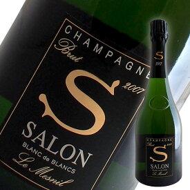 サロン ブラン ド ブラン[2007]サロン(シャンパン)【箱なし】【並行品】