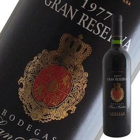 グラン レゼルバ[1977]ボデガス サン イシドロ(赤ワイン スペイン)