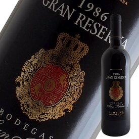 グラン レゼルバ[1986]ボデガス サン イシドロ(赤ワイン スペイン)