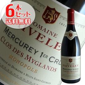 【送料無料】6本セット メルキュレ1級クロ デ ミグラン[2018]フェヴレ(赤ワイン ブルゴーニュ)