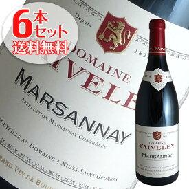 【送料無料】6本セット マルサネ ルージュ[2018]フェヴレ(赤ワイン ブルゴーニュ)