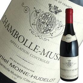 シャンボール ミュジニー[1997]ダニエル モワンヌ ユドロ(赤ワイン ブルゴーニュ)