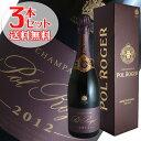 【送料無料】3本セット ポル ロジェ ブリュット ロゼ ヴィンテージ[2012]ポル ロジェ(シャンパン)【ギフトボックス】【正規品】