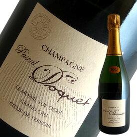 ル メニル シュール オジェ グラン クリュ EXブリュット[1998]パスカル ドケ(シャンパン)