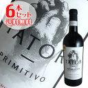 【送料無料】6本セット タトール プリミティーヴォ デル サレント[2018]ポッジョ レ ヴォルピ(赤ワイン イタリア)