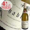 【送料無料】4本セット シャブリ[2019]ヴァンサン ドーヴィサ(白ワイン ブルゴーニュ)