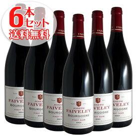 【送料無料】6本セット ブルゴーニュ ピノ ノワール[2019]フェヴレ(赤ワイン ブルゴーニュ)