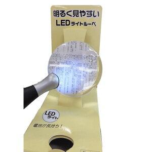 LEDライトルーペ 9630ルーペ 拡大鏡 ライト付き 虫眼鏡 るーぺ 見やすい 眼鏡 LEDライトルーペ 小玉付 老眼鏡 名古屋眼鏡