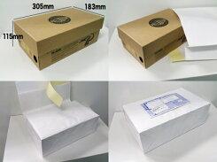 【2個で送料無料】宅配袋梱包袋大Lサイズ100枚テープ付き白色無地日本製梱包資材紙袋宅急便大手運送業者と同サイズ(縦405*横320*マチ110mm)bagLフリマオークション【同梱不可】