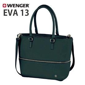 WENGER EVA 13 (ウェンガー エバ 13) ブラック 約13L 601077 【13インチ エクスパンバブルトート ルムーバブル ラップトップスリーブ Wenger Womens 父の日 ギフト プレゼント】【送料無料】