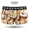 DARK SHINY dark shiny YLLB01 イエローラベルデディーベアレディース M
