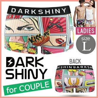 DARK SHINY dark shiny YLLB07 yellow label Peeping Tom Lady's L