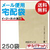 250 bags of packet correspondence (easy cut processing) that a business bag to deliver to says