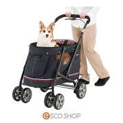 ボンビペットバギーDECAPROGREデニム(犬カートお散歩ケージサークル小型犬超小型犬)(メーカー直送)(同梱不可)()