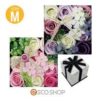 Q-FLAクルールバスフレM(薔薇バラローズ花束バスフレグランスソープフラワー入浴剤母の日ギフトプレゼントホワイトデー)(送料無料)