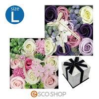 Q-FLAクルールバスフレL(薔薇バラローズ花束バスフレグランスソープフラワー入浴剤母の日ギフトプレゼントホワイトデー)(送料無料)