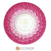 Q-FLAリースボックス(バラ薔薇ローズバスフレグランスソープフラワー入浴剤母の日ギフトプレゼントホワイトデー結婚式)(送料無料)