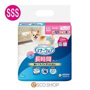 マナーウェアペット用紙オムツ超小型犬用SSSサイズ36枚(おむつおしっこ犬用ペット)