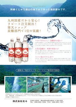 【2ケースごとに送料無料】九州あわ水炭酸水(500mL*24本入)【天然水/湧水/湧き水/あわ水/ソーダ水】