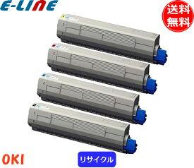 オキ TNR-C3L2 トナーカートリッジ 4色セット リサイクルトナー 「送料無料」「smtb-F」