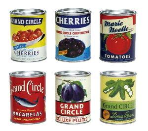 【店舗・イベント用品】【飲食店ディスプレイ】レトロミニ缶詰・3個セット