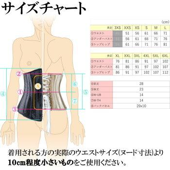 元鈴木さんのコルセットダイエットBurvogue23051サイズ表