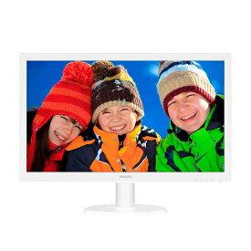 【中古】 フィリップス(PHILIPS) 233V5L 1920x1080(フルHD) HDMI 23インチワイド TFT 液晶 [23インチ ホワイト]