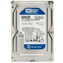 【中古】 3.5インチ WD Blue 3.5inch 7200rpm 500GB SATA WD5000AAKX WESTERNDIGITAL 内臓ハードディスク 増設HDD