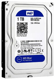 送料無料★Western Digital HDD 1TB WD Blue PC 3.5インチ 内蔵HDD WD10EZEX 7200rpm 交換HDD 内蔵HDDハードデスク★【中古】1000GB