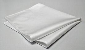 日本製 ナフキン 朱子無地 ホワイト 10枚 綿100% 51×51 (ワイン トーション、テーブル ナプキン)