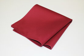 日本製 ナフキン 朱子無地 ワインレッド 10枚 綿100% 51×51 (ワイン トーション、テーブル ナプキン)