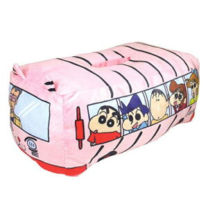 クレヨンしんちゃん バス型ティッシュカバー