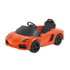 電動乗用玩具 ランボルギーニ(オレンジ) Lamborghini Aventador LP700-4