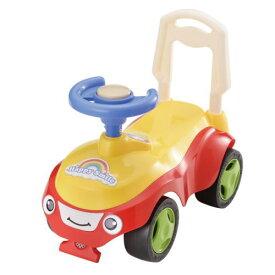 ハッピースマイル号(レッド) 足けり乗用玩具