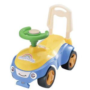 ハッピースマイル号(ブルー) 足けり乗用玩具
