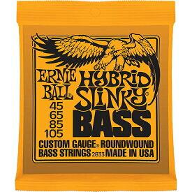 ERNIE BALL HYBRID SLINKY BASS 【エレキベース弦】