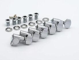 【ESP Parts】SG360-07-L CR6 in Line シャーラータイプ L SET Chrome[パーツ/ペグ/SCHALLER TYPE/片連用/L側/クローム]